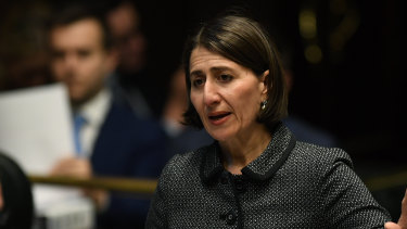 NSW Premier Gladys Berejiklian is facing anger from some of her MPs over the abortion decriminalisation bill.