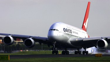 Qantas is considering whether to exit some of its A380s from its fleet.