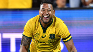 Not a prophet, priest or politician, Israel Folau is a rugby player.