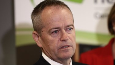 Bill Shorten had tears in his eyes as he talked about his late mother after an article in The Daily Telegraph.
