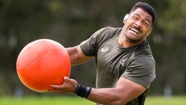 Scott Sio will start for the Wallabies on Saturday.