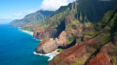 The helicopter failed to return from a tour of Kauai's Na Pali Coast.