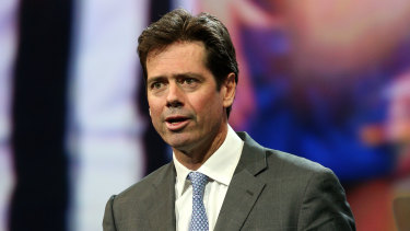 AFL boss Gillon McLachlan needs to come out and publicly set parameters for fan behaviour.