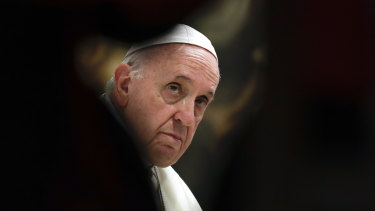 AUSTRAC's claim threatened to worsen the turmoil facing Pope Francis over the Vatican's finances.