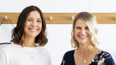 Jodi Geddes and Kate Pollard started Circle In after their own experiences returning to work after parental leave.