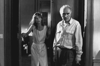 Jane Birkin and Michel Piccoli in Jacques Rivette's La Belle Noiseuse.
