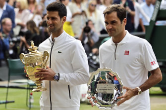 Federer's loss over Novak Djokovic at last year's Wimbledon was difficult to watch for  his fans after having two match points.