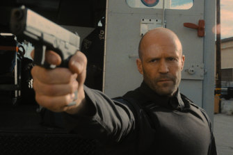 Jason Statham is 'H' in Wrath of Man.