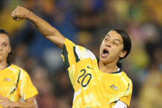 Sam Kerr will be in the peak of her career come the 2023 Women's World Cup in Australia and New Zealand.