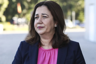 "Premier Annastacia Palaszczuk says she ""just can't wait"" for other states to get onboard and will go it alone."