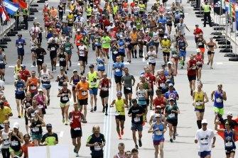The Boston Marathon has been postponed due to coronavirus.