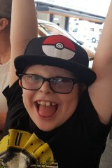 Max is one of about 1000 Australians affected by the rare genetic condition.