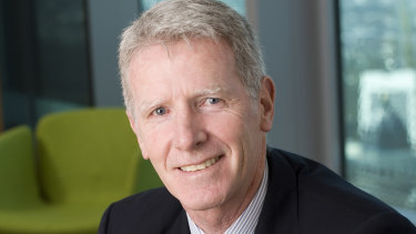 Former AustralianSuper executive Jack McGougan.
