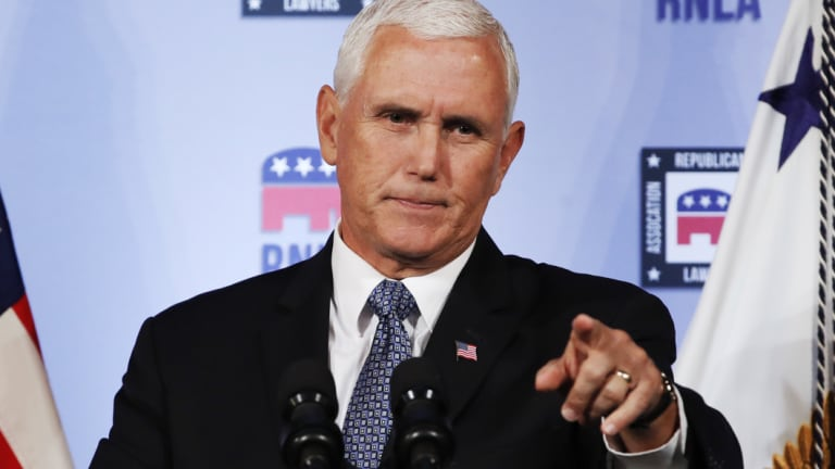 Mike Pence will visit Australia later this year.