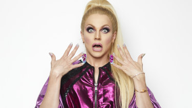 Courtney Act is said to be in talks with ANZ.