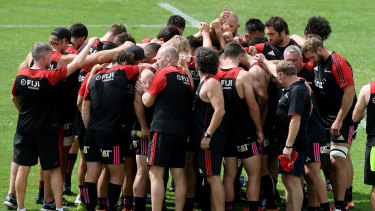 The Crusaders will rally together for the Christchurch community this week.