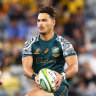 Burke says Petaia needs 'time in the saddle' before he can play fullback for Wallabies