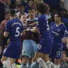 Chelsea held by Burnley, denting Champions League hopes