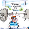 CBD Melbourne: Pollies roll in as the pork barrels are rolled out