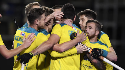 Kookaburras beat Black Sticks to qualify for Tokyo, Hockeyroos face anxious wait