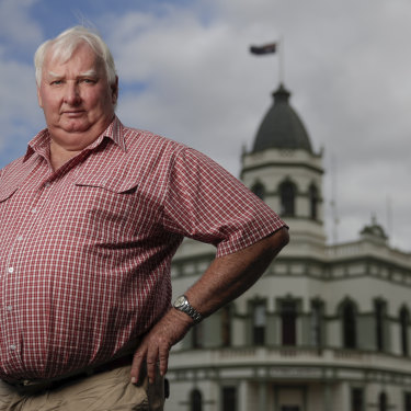 The former mayor of Forbes Graeme Miller says regional Australia is changing.