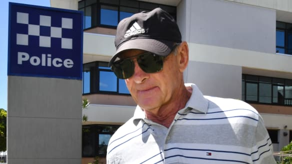 Chris Dawson reports to Queensland police for the first time since getting bail
