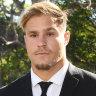 Jack de Belin not suspended ... yet, NRL barrister tells court