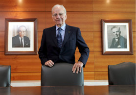 Chairman and CEO of News Corp Rupert Murdoch.