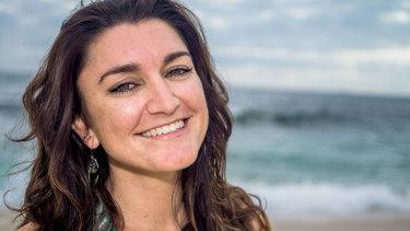 Yoga teacher Harriet Sciberras.