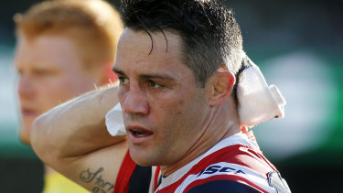 Cronk has copped many late hits this season.