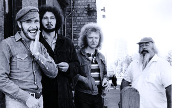 Max Merritt and the Meteors in the '70s.