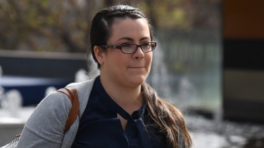 Youi customer Sacha Murphy gave evidence at the royal commission.