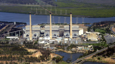 Ageing coal-fired power stations, like this one in Gladstone, increasingly fail to operate in hot weather.