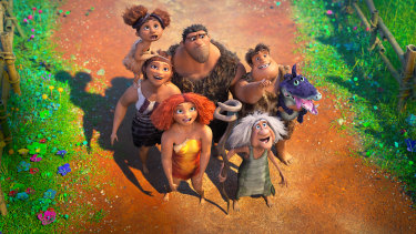 A scene from The Croods: A New Age.