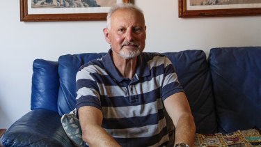 Peter Haidinger, at his Eastwood home, completed the second ever HSC in 1968 at Castle Hill High School.