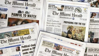 McClatchy, major US local news publisher, files for bankruptcy