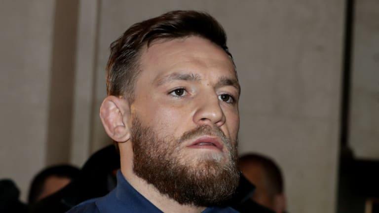 Bad boy: UFC star Conor McGregor.
