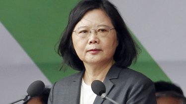 Taiwan's president, Tsai Ing-wen.