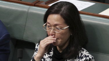 Gladys Liu has been targeted over her past membership of Chinese community associations.
