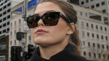 Tears then laughter as Belle Gibson cries poor over $410,000 fine