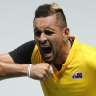 Newcombe advises Kyrgios to 'zip it'