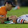 Keary KO'd again on horror night for Roosters and Blues