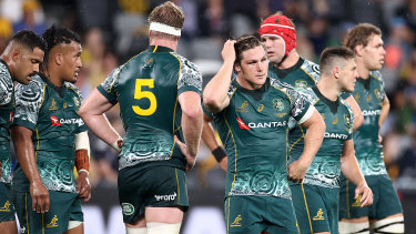 The Wallabies come to terms with another disappointing result.