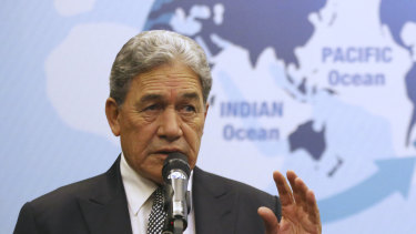 New Zealand Foreign Minister Winston Peters said everything frustrated Australian officials in Tuvalu couldn't say.