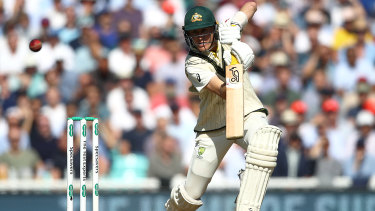 Tragic: When Labuschagne takes a break from cricket, he plays cricket.