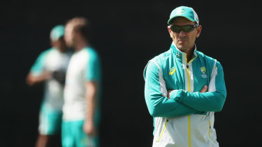 Justin Langer's relationship with his players has been questioned in recent times.