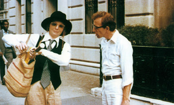 Diane Keaton showed how to 'borrow from the boys' in Annie Hall.