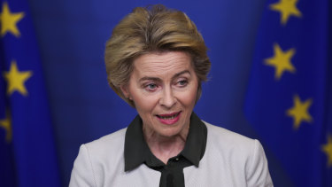 European Commission President Ursula von der Leyen met Donald Trump to discuss a trade deal on the sidelines of the World Economic Forum at Davos this month.