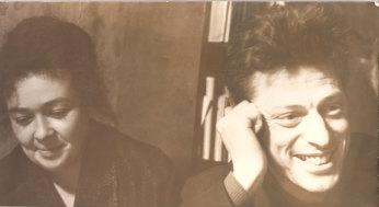 Michael Ulman and Sophia in the 1960s.