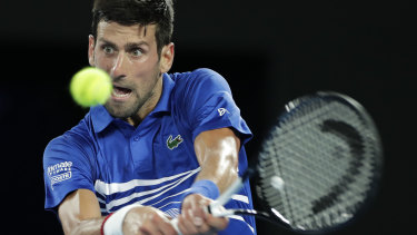 'Both of us are going to give absolutely everything,' says Novak Djokovic of his   showdown on Sunday with  Nadal.